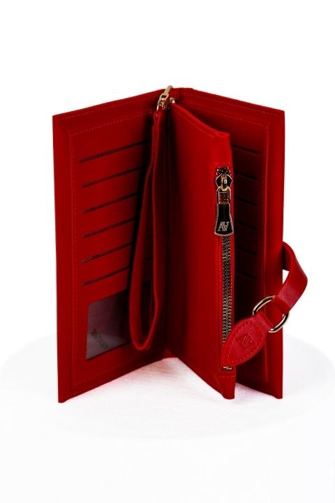 Armine El ve Bilek Çantası 7001-Kırmızı