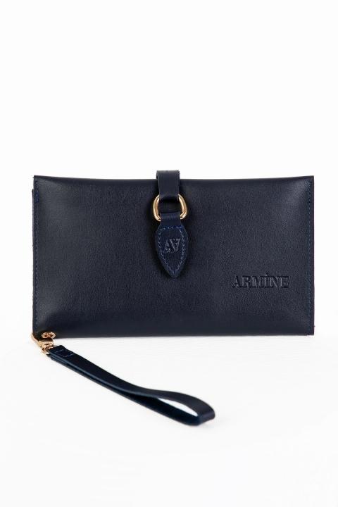 ARMİNE - Armine El ve Bilek Çantası 7001-Lacivert