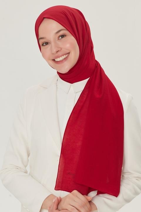 ARMİNE - Armine Trend Nobby Şal-Kırmızı