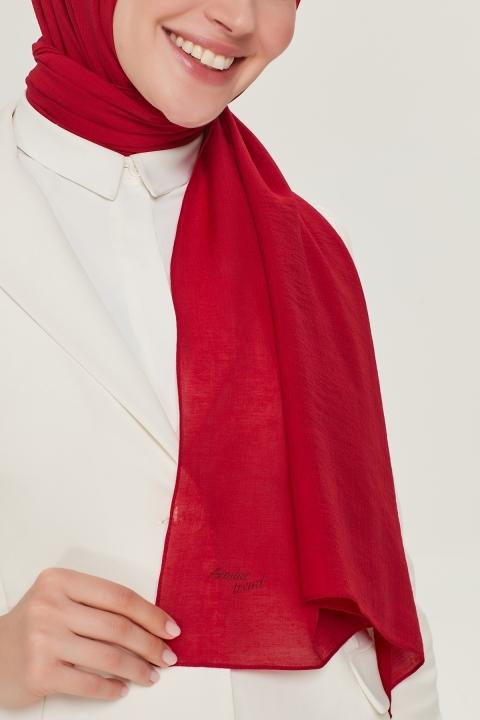 Armine Trend Nobby Şal-Kırmızı