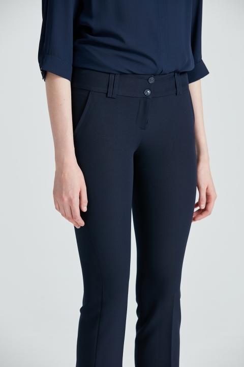 Bilek Boy Pantolon-Lacivert - Thumbnail
