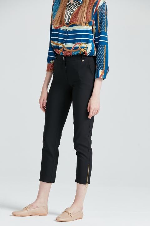 Paçası Fermuarlı Klasik Pantolon - Thumbnail