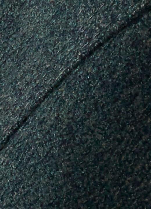 ZÜHRE Çıtçıt ve Şerit Detaylı Uzun Kap Haki 12008 - Thumbnail
