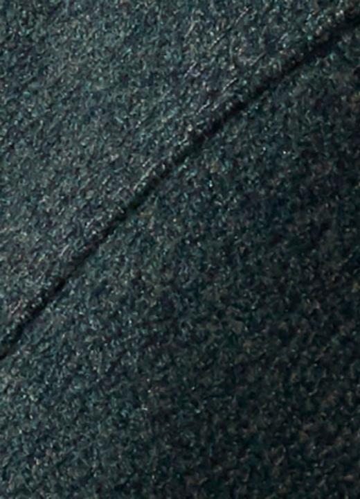 ZÜHRE Çıtçıt ve Şerit Detaylı Uzun Kap Haki 12008